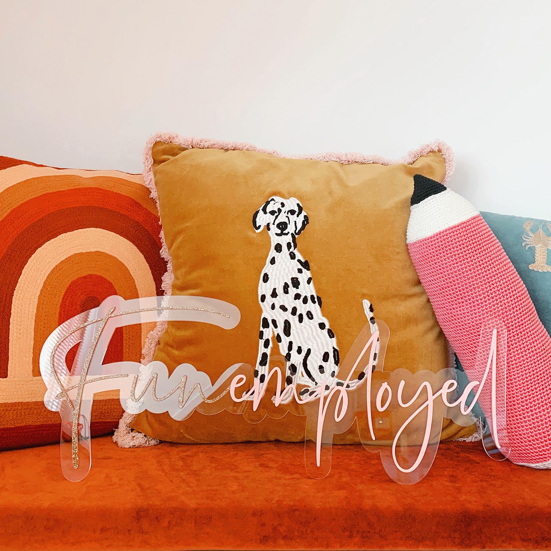 Funemployed_acrylicsign_Blog1
